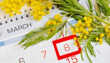 Весна, цветы, 8 Марта - любопытные факты о празднике