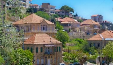 Ливанский дом с тремя арками