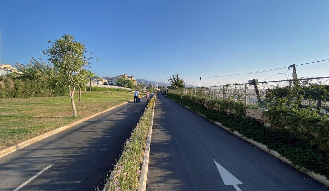 Открытие велосипедной дорожки в Жбейле