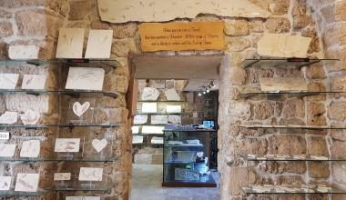 Музей окаменелостей в Библосе.