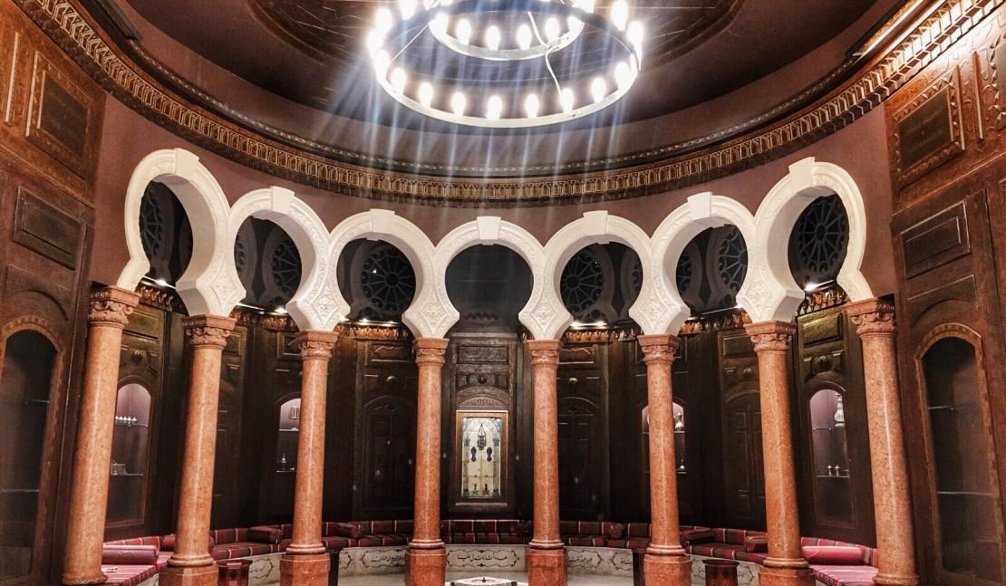Арабский салон в музее Николаса Сарсук.