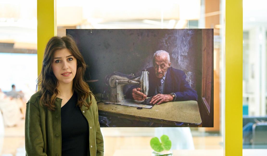 Ливанка выиграла премию National Geographic