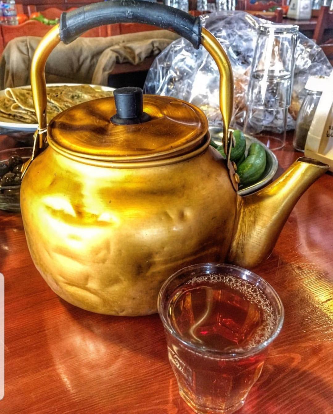 Чай в арабских странах дома в пригороде лондона